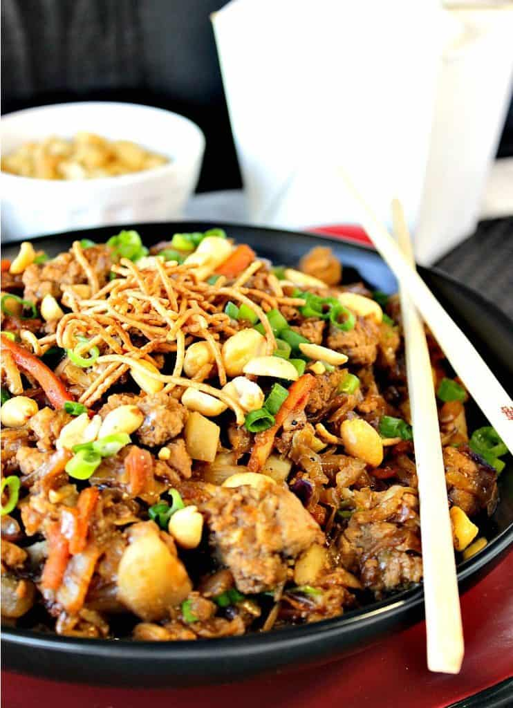 Chinese Ground Pork Egg Roll Bowl Recipe Kudos Kitchen Style | kudos Kitchen by Renee