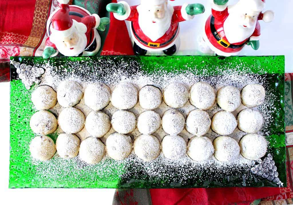 Buttery Sweet Pistachio Cranberry Snowball Cookies | Kudos Kitchen by Renee