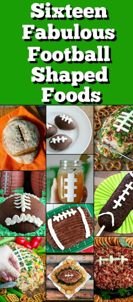 Football Shaped Food Roundup 2018 for Friday's Featured Foodie Feastings | Kudos Kitchen by Renee