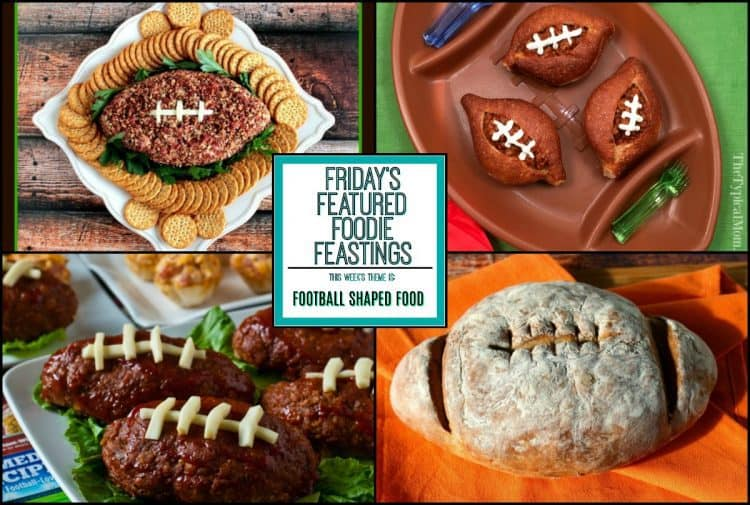 Football Shaped Food Roundup for 2018