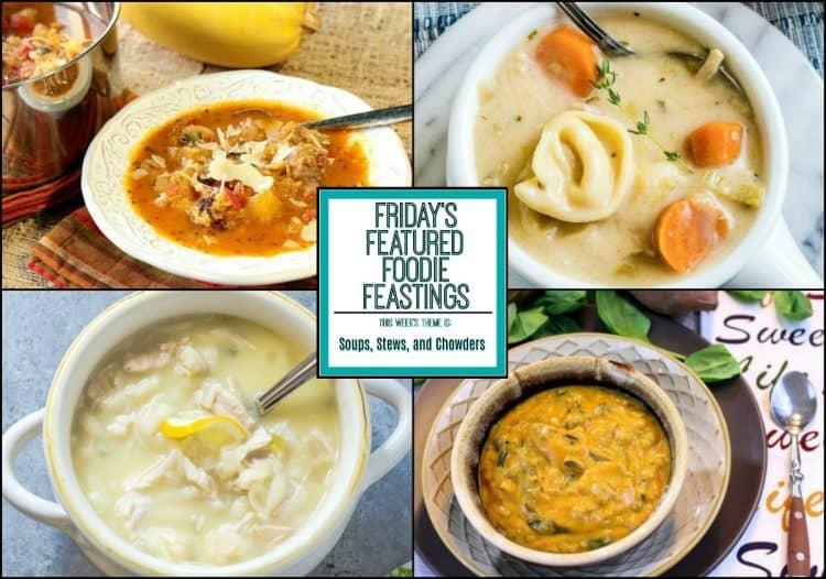 Soup, Stew & Chowder Recipe Roundup 2018