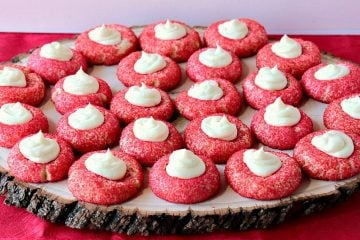 Cream Cheese Cookies with Cheesecake Topping