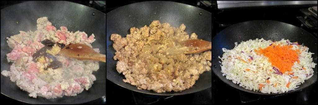 Tasty Ground Pork Egg Roll Bowl Kudos Kitchen Style