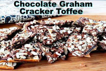 Double Chocolate Graham Cracker Toffee