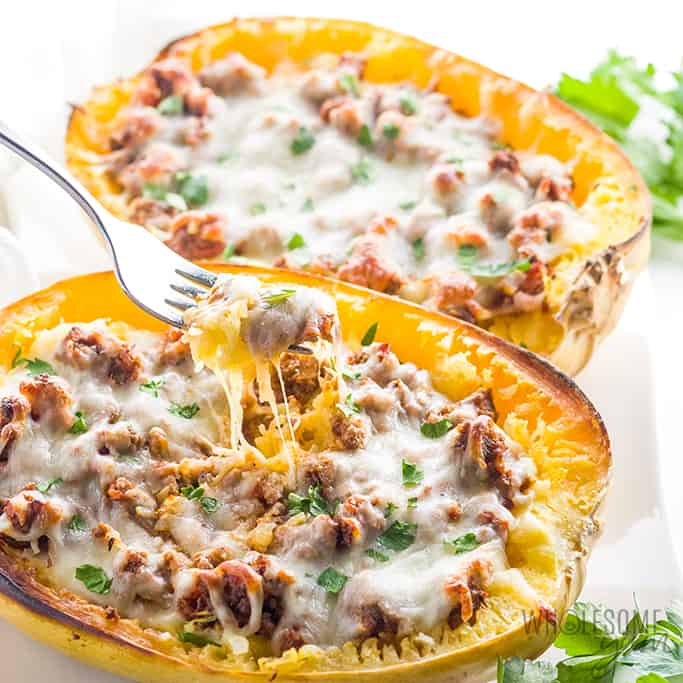 Low Carb Recipe Roundup 2018 for Friday's Featured Foodie Feastings. - www.kudoskitchenbyrenee.com