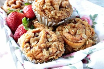 Strawberry Crescent Muffins