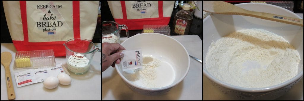 How to make German Bee Sting Cake photo tutorial