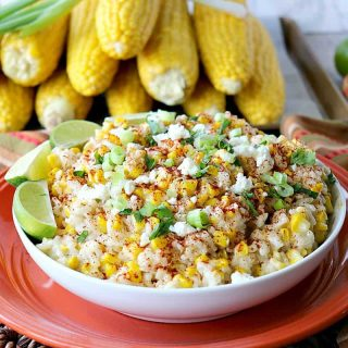 Sweet & Savory Roasted Mexican Sweet Corn Risotto - kudoskitchenbyrenee.com