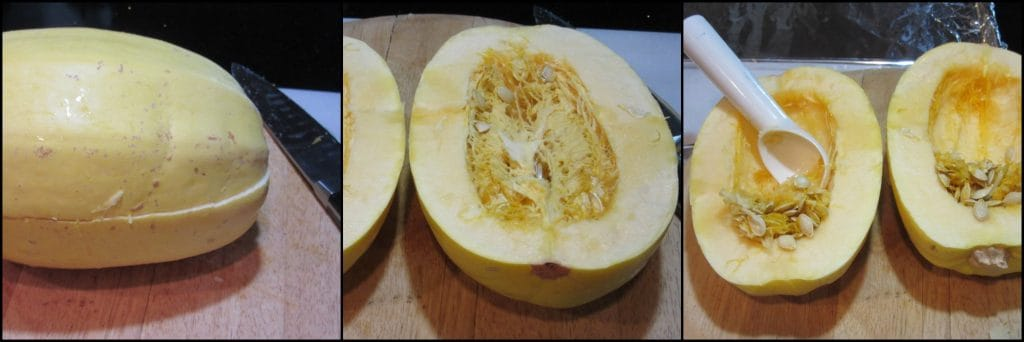 How to roast a spaghetti squash. - kudoskitchenbyrenee.com