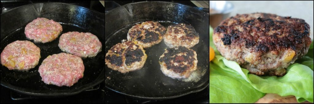 How to make Juicy Pork Burgers with Dried Apricots and Grainy Mustard - kudoskitchenbyrenee.com