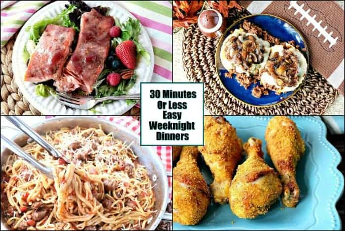 Loads of Quick and Easy Weeknight Dinner Recipes