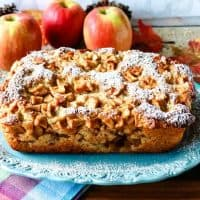No-Knead Apple Yeast Bread