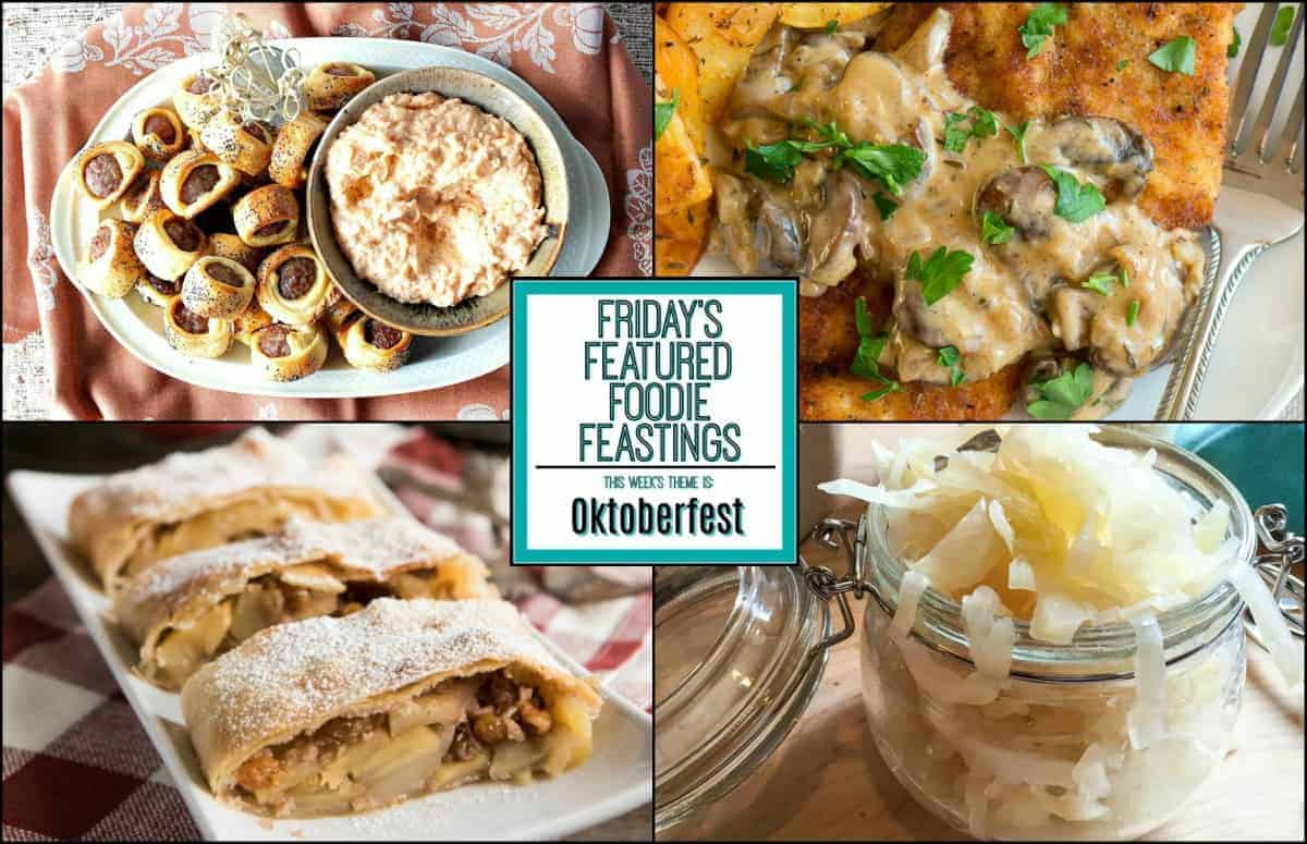 Wunderbar Oktoberfest Recipe Roundup - Friday's Featured Foodie Feastings - kudoskitchenbyrenee.com