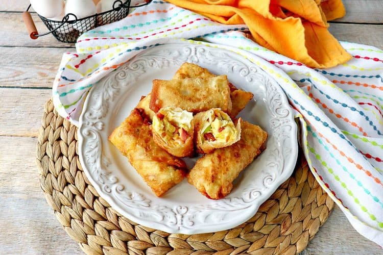 Scrambled Egg Rolls