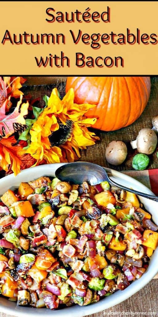 All of the colors you love about fall are in these sauteed autumn vegetables which makes this the perfect side dish for your Thanksgiving table. - kudoskitchenbyrenee.com