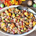 Colorful Sauteed Autumn Vegetables with Bacon - kudoskitchenbyrenee.com