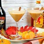 Pumpkin Spice Martini - Kudos Kitchen Style - kudoskitchenbyrenee.com @kudoskitchen