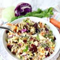 Copycat Sunflower Crunch Kale Cabbage Salad