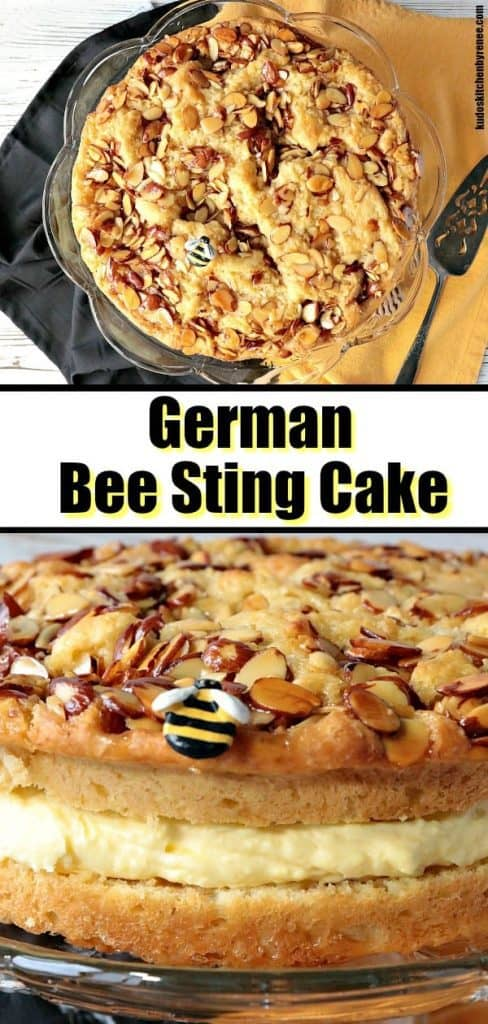 German Bee Sting Cake - kudoskitchenbyrenee.com