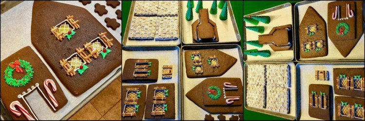 How to decorate a gingerbread house photo tutorial. - kudoskitchenbyrenee.com