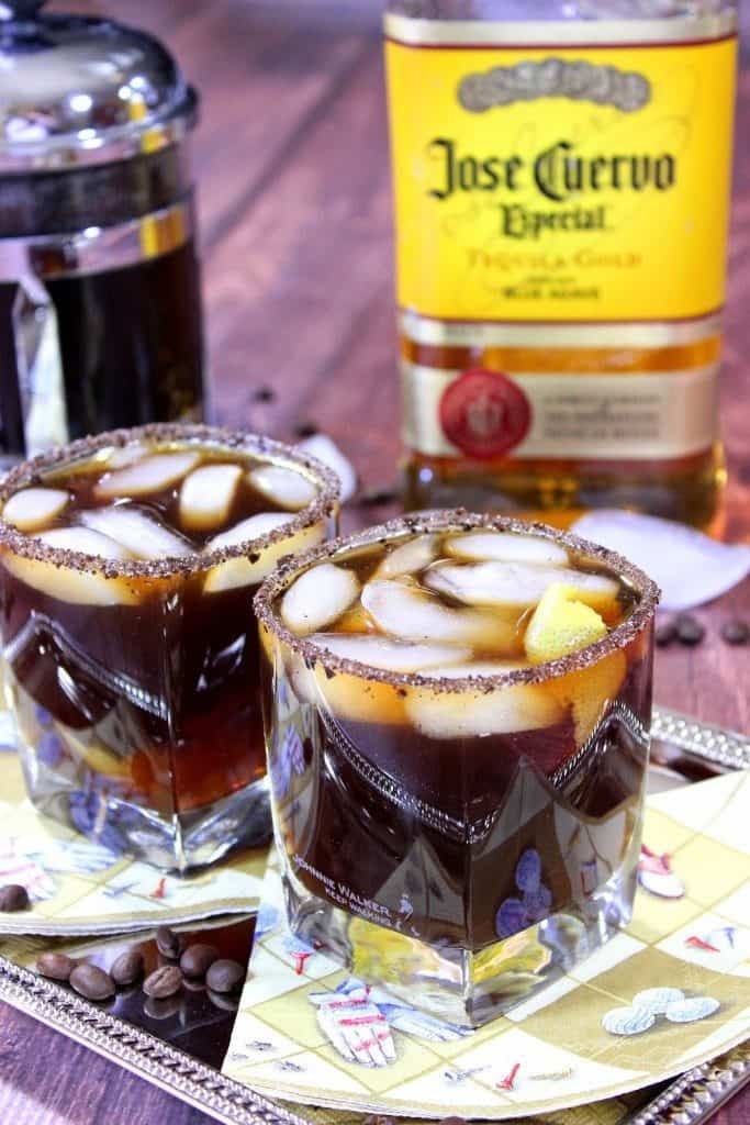 Iced Coffee Margarita