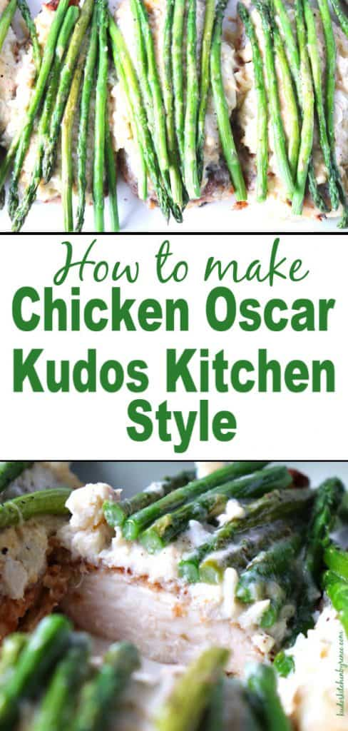 How to make chicken Oscar title text image