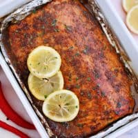 Garlic Brown Sugar Glazed Salmon [video] - Sweet and Savory Meals