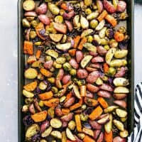 Easy Roasted Vegetables {BEST Seasoning Mix}