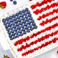 Patriotic Poke Cake Recipe [video]