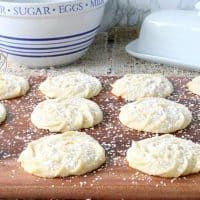 Viennese Whirls Butter Cookies