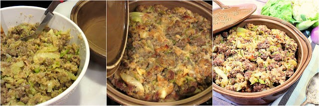 How to make keto cabbage roll casserole photo tutorial.