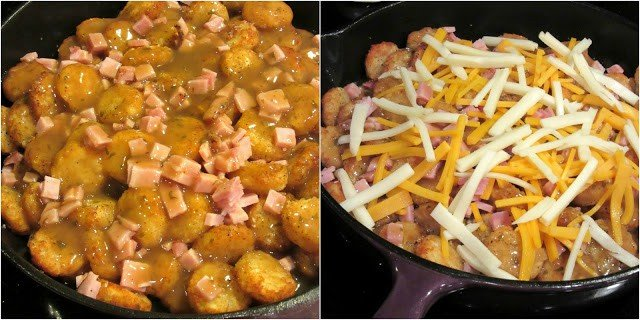How to make tater tot poutine.