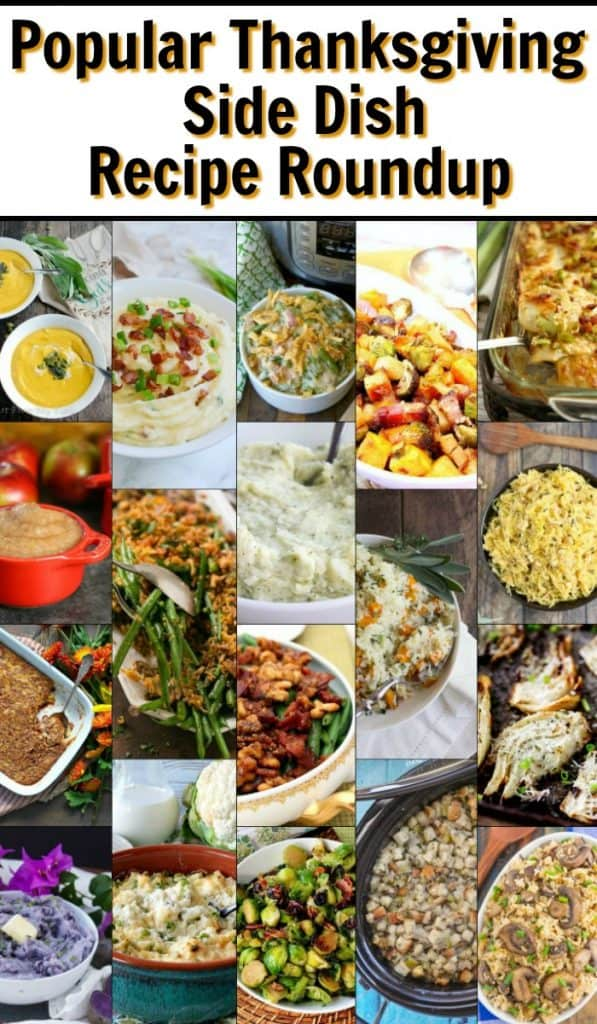 Most Popular Thanksgiving Side Dish Recipe Roundup