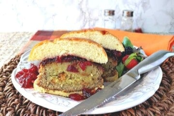 Stuffing Stuffed Turkey Burgers