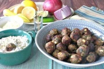Greek Meatball Appetizers