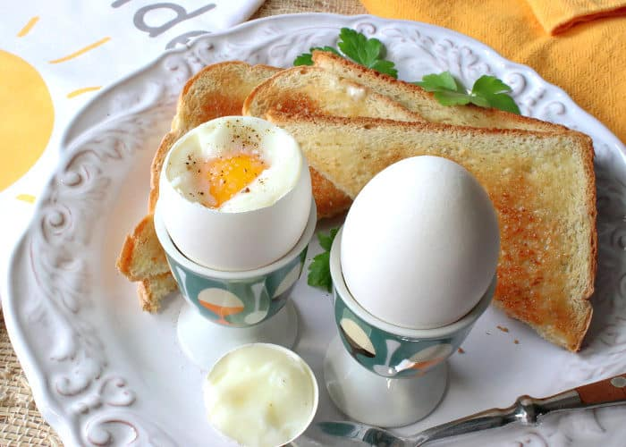 Air Fryer Soft Boiled Eggs