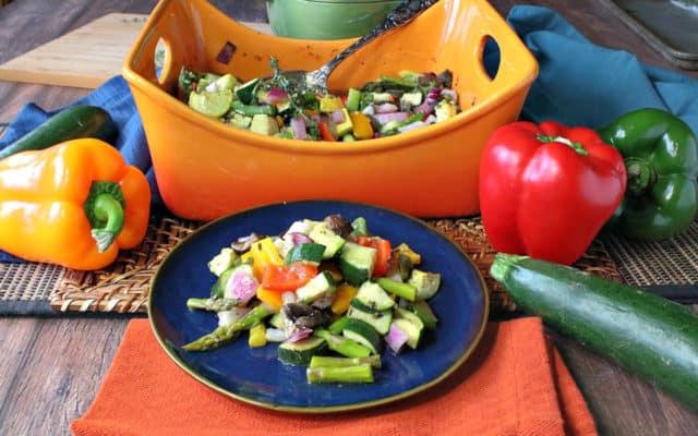 Roasted  Summer Vegetable Medley