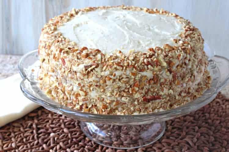 Banana Poppy Seed Cake